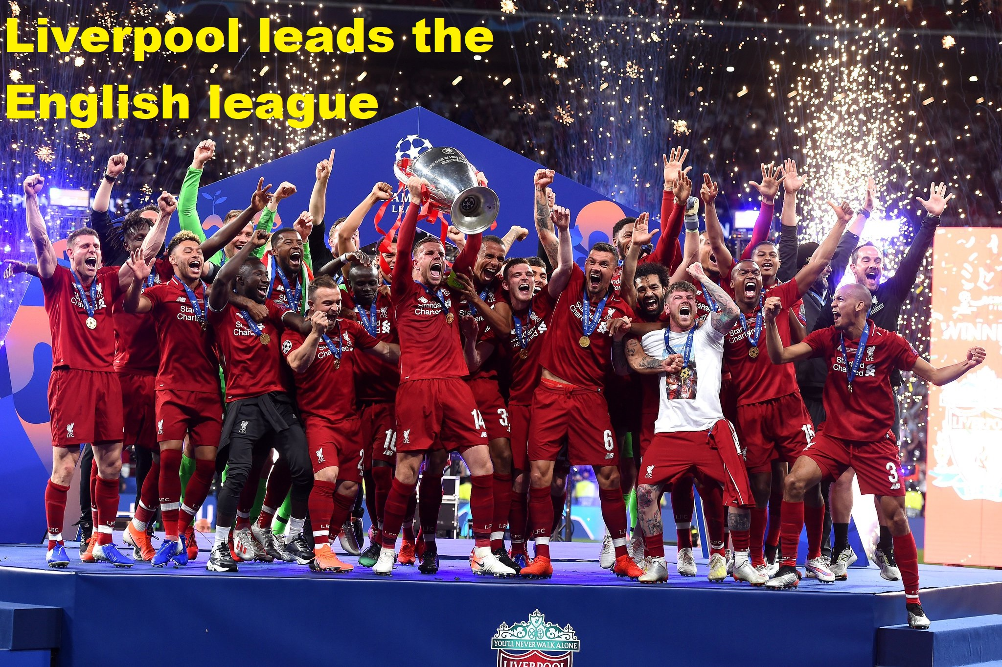 Liverpool leads the English league